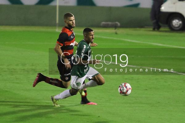 Campinas (SP), 28/05/2021 - Guarani-Vitória - Partida entre Guarani e Vitória válida pela primeira rodada do Campeonato Brasileiro da Série B nesta sexta-feira (28) no estádio Brinco de Ouro em Campinas, interior de São Paulo.