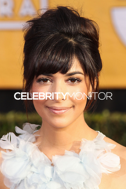 LOS ANGELES, CA - JANUARY 18: Hannah Simone at the 20th Annual Screen Actors Guild Awards held at The Shrine Auditorium on January 18, 2014 in Los Angeles, California. (Photo by Xavier Collin/Celebrity Monitor)