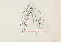 BNPS.co.uk (01202 558833)<br /> Pic: Heritage Auctions/BNPS<br /> <br /> PICTURED: A drawing from Snow White and the Seven Dwarfs, 1937<br /> <br /> A vast collection of original hand-drawn animations from classic Disney movies has emerged for sale at auction.<br /> <br /> Nearly 300 lots have been put up for sale with animation drawings, original concepts, layouts and storyboards among the most appealing items.<br /> <br /> It is believed the group is the largest collection of original hand-drawn Disney animation ever offered in a single auction.