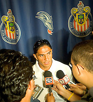 Juan Francisco 'Paco' Palencia of CD Chivas USA at Press Conference promoting the FC Barcelona match against Chivas de Guadalajara at the Ritz Carlton in Marina Del Rey, California, Friday August 4, 2006.