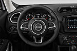 Car pictures of steering wheel view of a 2019 JEEP Renegade Latitude 5 Door SUV Steering Wheel