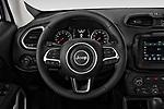 Car pictures of steering wheel view of a 2019 JEEP Renegade Latitude 5 Door SUV Steering Wheel