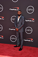 LOS ANGELES, USA. July 10, 2019: Tyron Woodley at the 2019 ESPY Awards at the Microsoft Theatre LA Live.<br /> Picture: Paul Smith/Featureflash