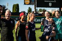 Tacoma, WA - Monday, May 27, 2019: Reign FC vs North Carolina Courage at Cheney Stadium.