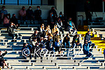 Spectators watch on during the Munster Football Championship game between Kerry and Clare at Fitzgerald Stadium, Killarney on Saturday.