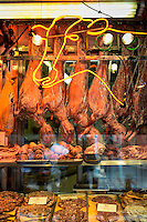 Butcher shop, Italian Market, South Philadelphia, Pennsylvania, USA
