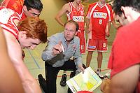KBBC Oostkamp : coach Mario Lusyne.foto VDB / BART VANDENBROUCKE