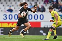 22nd May 2021; Eden Park, Auckland New Zealand; All Blacks Sevens versus Australia, Trans-Tasman Sevens;  Brady Rush runs in open field