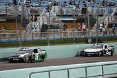 #19: Brandon Jones, Joe Gibbs Racing, Toyota Camry Juniper and #3: Shane Lee, Richard Childress Racing, Chevrolet Camaro CMR Construction & Roofing