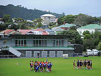 120207 Super 15 Rugby Union - Hurricanes Training