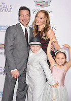 BRENTWOOD, CA - JUNE 11: Executive producer Hank Steinberg, Kara Dors and children arrive at the 15th Annual Chrysalis Butterfly Ball at a private residence on June 11, 2016 in Brentwood, California.