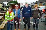 Enjoying Camp Horse Fair on Monday, l to r: Jason Barrett, Thomas Ashe, Milo O'Brien and Adam Crean.