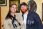 Enjoying the evening in Sean Og's on Friday, l to r: Owas Batha and Rebecca O'Connell from Tralee