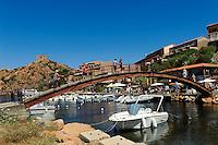 Hafen von Porto, Korsika, Frankreich