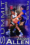 Mansfield Summit varsity basketball team posters.