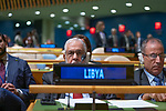 General Assembly Seventy-fourth session, 5th plenary meeting<br /> <br /> His Excellency Faiez Mustafa Serraj, President of the Presidency Council of the<br /> Government of National Accord, State of Libya