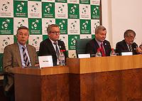 30-01-2014,Czech Republic, Ostrava, Cez Arena, Davis Cup, Czech Republic vs Netherlands, draw, city hall, Photo: Henk Koster
