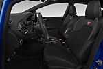 Front seat view of a 2018 Ford fiesta st Ultimate 5 Door Hatchback front seat car photos