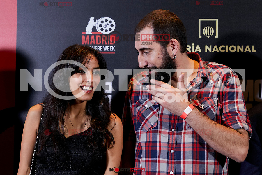 Maysun Abu-Khdeir and Manu Brabo attends to 'Morir para contar' film premiere during the Madrid Premiere Week at Callao City Lights cinema in Madrid, Spain. November 13, 2018. (ALTERPHOTOS/A. Perez Meca) /NortePhoto.com