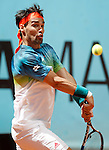 Fabio Fognini, Italia, during Madrid Open Tennis 2016 match.May, 4, 2016.(ALTERPHOTOS/Acero)