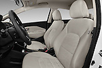 Front seat view of 2017 KIA Rio LX-AT 4 Door Sedan Front Seat  car photos