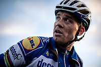 Zdenek Stybar (CZE/Deceuninck-Quick Step) post race<br /> <br /> CX Superprestige Zonhoven (BEL) 2019<br /> Elite & U23 mens race