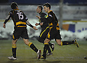 04/12/2010   Copyright  Pic : James Stewart.sct_jsp013_allao_v_peterhead  .:: KEVIN MCDONALD CELEBRATES AFTER SCORING ALLOA'S SECOND ::.James Stewart Photography 19 Carronlea Drive, Falkirk. FK2 8DN      Vat Reg No. 607 6932 25.Telephone      : +44 (0)1324 570291 .Mobile              : +44 (0)7721 416997.E-mail  :  jim@jspa.co.uk.If you require further information then contact Jim Stewart on any of the numbers above.........