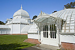 Conservatory of Flowers at Golden Gate Park, San Francisco