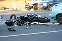 Fatal Motorcycle vs Car Greenway & 40th st