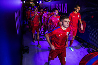 Orlando, FL - Friday Oct. 06, 2017: Christian Pulisic, USMNT during a 2018 FIFA World Cup Qualifier between the men's national teams of the United States (USA) and Panama (PAN) at Orlando City Stadium.