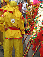 A ceremonial Dragon Dance is performed at festivals and special events.