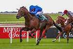 September 12, 2021: Native Trail (GB) #5, ridden by jockey William Buick wins the Group 1 Vincent O'Brien National Stakes on the turf on Irish Champions Weekend at Curragh Racecourse in Kildare, Ireland on September 12th, 2021. Shamela Hanley/Eclipse Sportswire/CSM