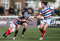 Elliot Kear during the Kingstone Press Championship match between London Broncos and Rochdale Hornets at Castle Bar , West Ealing , England  on 26 March 2017. Photo by Steve Ball / PRiME Media Images.