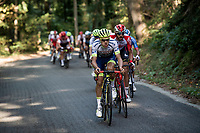 Xandro Meurisse (BEL/Wanty - Gobert) trying to force a gap up the last climb of the day<br /> <br /> 60th Grand Prix de Wallonie 2019<br /> 1 day race from Blegny to Citadelle de Namur (BEL / 206km)<br /> <br /> ©kramon