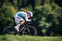 Bob Jungels (LUX/Quick-Step Floors)<br /> <br /> MEN ELITE INDIVIDUAL TIME TRIAL<br /> Hall-Wattens to Innsbruck: 52.5 km<br /> <br /> UCI 2018 Road World Championships<br /> Innsbruck - Tirol / Austria