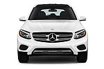 Car photography straight front view of a 2018 Mercedes Benz GLC-Class 300 5 Door SUV