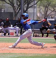 Yeison Santana - Chicago Cubs 2021 spring training (Bill Mitchell)