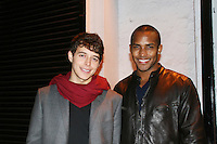 All My Children's Daniel Kennedy and Sterling Sulieman at the ABC Daytime Casino Night on October 23, 2008 at Guastavinos, New York CIty, New York. (Photo by Sue Coflin/Max Photos)