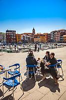 Port of Bermeo. Urdaibai Region. Bizkaia. Basque Country. Spain.
