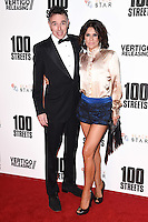 "Charlie Creed Miles and Sachi Loggia<br /> at the ""100 Streets"" UK premiere, Bfi South Bank, London.<br /> <br /> <br /> ©Ash Knotek  D3195  08/11/2016"