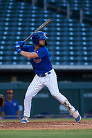 AZL Cubs 1 Jacob Olson (16) at bat during an Arizona League game against the AZL Royals on June 30, 2019 at Sloan Park in Mesa, Arizona. AZL Royals defeated the AZL Cubs 1 9-5. (Zachary Lucy/Four Seam Images)