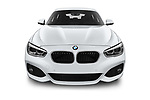 Car photography straight front view of a 2018 BMW 1 Series M Sport Ultimate 3 Door Hatchback