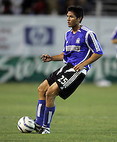 21 September 2005:  Brian Ching of the Earthquakes in action against the Chicago Fire at Spartan Stadium in San Jose, California.   San Jose Earthquakes defeated Chicago Fire, 2-0.