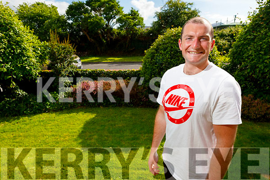 Eoghan Galvin at home in Tralee on Thursday as he has just ran 40 kilometres of his 200 kilometre fundraising effort for the Kerry Cancer Support Group and Palliative Care. Raising €8,500 to date far exceeding his original target.