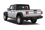 Car pictures of rear three quarter view of 2020 JEEP Gladiator Sport-S 4 Door Pick-up Angular Rear