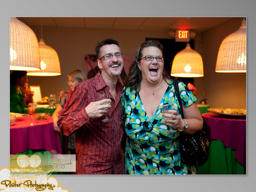"""Thursday, August 13, 2009, during Liga Photography and the 2u Collection's """"Pamper Yourself Party"""" at the Vitality Wellness Spa in Maitland. Christy Duval, the owner of Vitality Spa. Moore Fine Foods catered, Lee Forrest Designs provided the beautiful flora, Blue Martini of Orlando supplied the drinks and Anna Cakes brought delicious cupcakes.  (Chad Pilster, http://www.PilsterPhotography.net)"""
