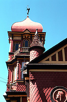 San Diego: Villa Montezuma (Shepard House), 1887. Comstock & Trotsche. NHRP 1971. (Photo '82)