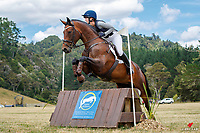 NZL-Kirsity Bale rides Kelaray Gifted. Final-2nd. PCL Group Ltd CCN 95-S B. 2021 NZL-Troy Wheeler Contracting Springbush Horse Trial. Hunua, Auckland. Sunday 7 February. Copyright Photo: Libby Law Photography