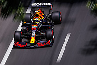 4th June 2021; Baku, Azerbaijan; Free practise sessions;  11 PEREZ Sergio mex, Red Bull Racing Honda RB16B, action during the Formula 1 Azerbaijan Grand Prix 2021 at the Baku City Circuit, in Baku, Azerbaijan