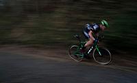 Tim Merlier (BEL/Crelan-Charles) speeding up the Koppenberg<br /> <br /> Elite Men's race<br /> Koppenbergcross / Belgium 2017